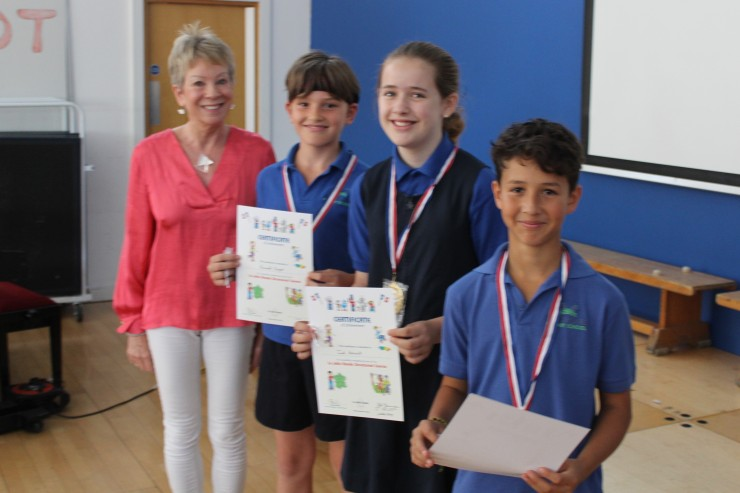 Marshgate Yr 6 awards July 2019